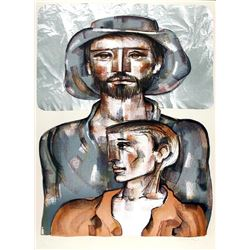 Jorge Dumas, Today and Tomorrow, Lithograph
