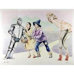 Robert Anderson, Wizard of Oz, Lithograph