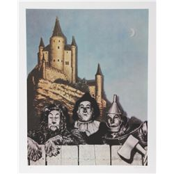 Robert Anderson, Courage - Wizard of Oz, Lithograph