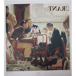 Norman Rockwell, Saying Grace, Vintage Poster