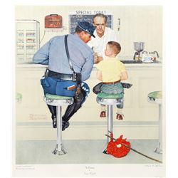 Norman Rockwell, The Runaway, Vintage Poster
