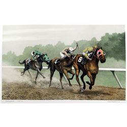 Mel Hunter, Thoroughbred, Lithograph