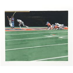 Merv Corning, NFL Super Bowl XII, Lithograph