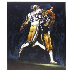 Merv Corning, NFL Superbowl XIV, Lithograph