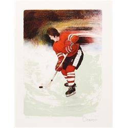 Donato, Hockey Player, Lithograph