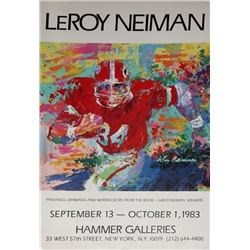 LeRoy Neiman, Winners (Football) Hammer Galleries, Poster