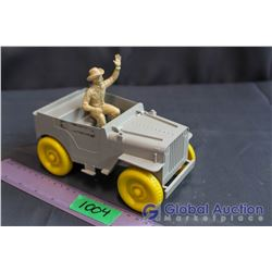 Roy Rogers Jeep by Ideal 1950s