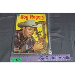 Roy Rogers Signed Comic Book w/Certificate of Authenticity