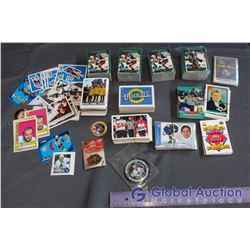 (6) Complete Hockey Card Sets & More