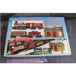 Dickensville Christmas Train Toy