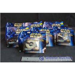 Lot of (7) Star Wars Episode I Micro Machines