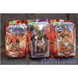 (3) Masters of the Universe NIB Toys