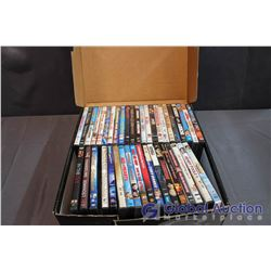 Box of Assorted DVD Movies (Approx 40)