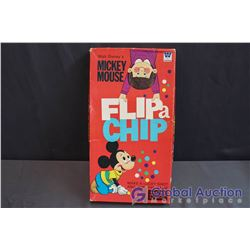 Walt Disney's Mickey Mouse FLIP a CHIP Board Game