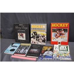 Lot Of Hockey Books ()
