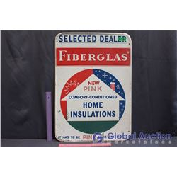 "Selected Dealer Fiberglas Metal Sign (19.5""x 27"")"