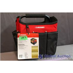 "Husky 10"" Foldable All Purpose Tote"