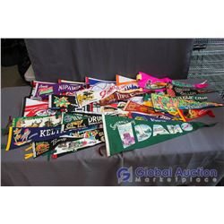 Lot of Misc Pennants
