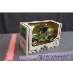 1918 Runabout Die Cast Barrel Bank