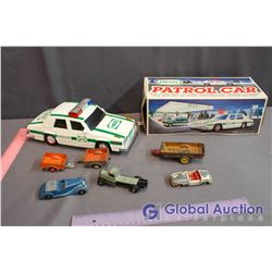 Hess Toy Patrol Car, Misc Toy Dinky Cars