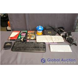Box of Misc Computer Games and Accessories