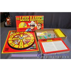Vintage The Lone Ranger Board Game