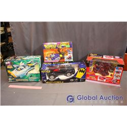 NIB Spider-Man, Batman, Mighty Ducks & Beast Wars Toys