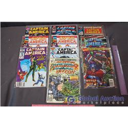 (10) Captain America Comics