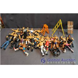 Lot of Wrestling Action Figures