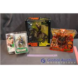 NIB Toys (Planet of Apes, Spawn, Yu-Gi-Oh!)