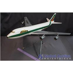 Alitalia Model Airplane