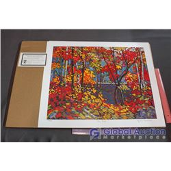 The Pool' Numbered Print By Tom Thomson And Group Of Seven Publishing W/ COA