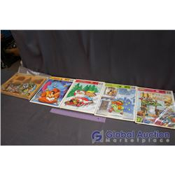 Lot Of Kids Puzzles