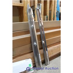 Ford F150 09-14 Aluminum Long Box Rails X-Over. Part # ASR-533, Advance Manufacturing, S&D