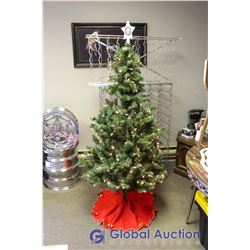 Light Up Artificial Christmas Tree 64""