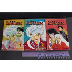 Lot Of Inuyasha Graphic Novels (3) (Books One, Two And Three)