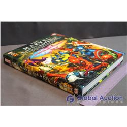 The Marvel Encyclopedia Hardcover Book