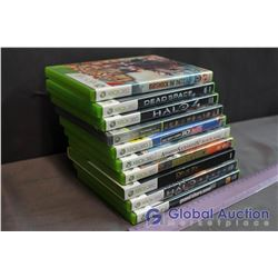 Lot of Xbox 360 Games (10) (Bioshock Infinite, Dead Space, Halo 4,