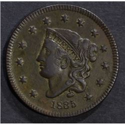 1835 LARGE CENT, XF
