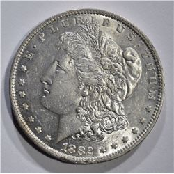1882-O MORGAN DOLLAR, GEM BU