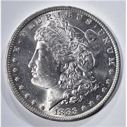 1883-O MORGAN DOLLAR, GEM BU