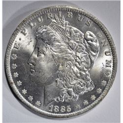 1885-O MORGAN DOLLAR, GEM BU
