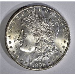1898-O MORGAN DOLLAR, GEM BU