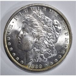 1899-O MORGAN DOLLAR, GEM BU