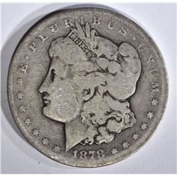 1878-CC MORGAN DOLLAR AG/G