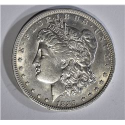 1889-O MORGAN DOLLAR AU+