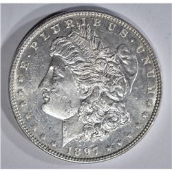 1897 MORGAN DOLLAR CH BU PROOF LIKE