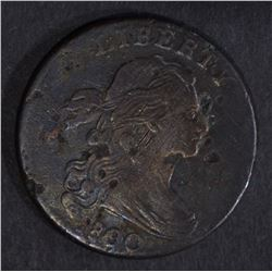 1800/79 LARGE CENT, XF scratches corroded