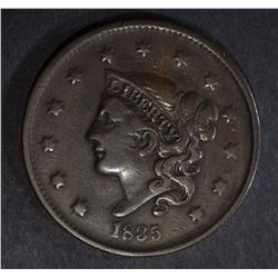 1835 LARGE CENT, VF