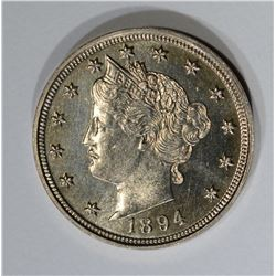 1894 LIBERTY V NICKEL  GEM PROOF